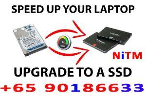 Laptop SSD Upgrade
